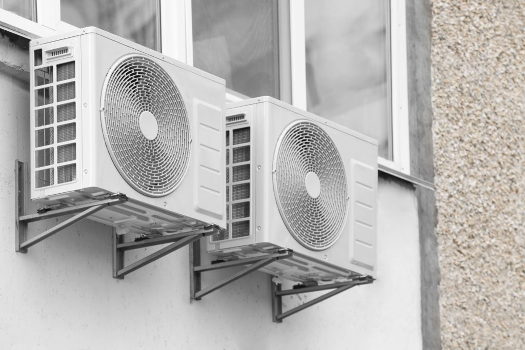 outdoor ductless ac units